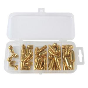 52pcs-lot-1-8-g-10-G-cuivre-Bullet-Lest-Poids-Fast-Sinking-Pour-Texas-Rigs