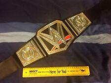 WWE Champion Kids Wrestling Belt World Heavyweight Championship Mattel 2014