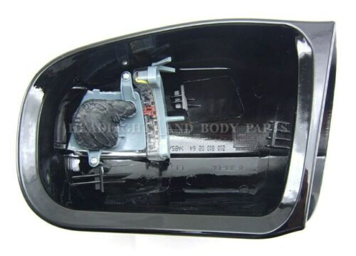 Left LH Side Mirror Cover With Turn Signal Lamp Light LED Fits for MB W210 99