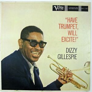 DIZZY-GILLESPIE-Have-Trumpet-Will-Excite-LP-1959-JAZZ-BOP-NM-VG