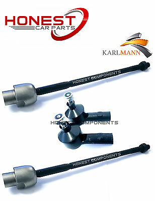For VAUXHALL CORSA C 2000-2007 INNER STEERING TRACK TIE ROD ENDS L//R X2 Karlmann