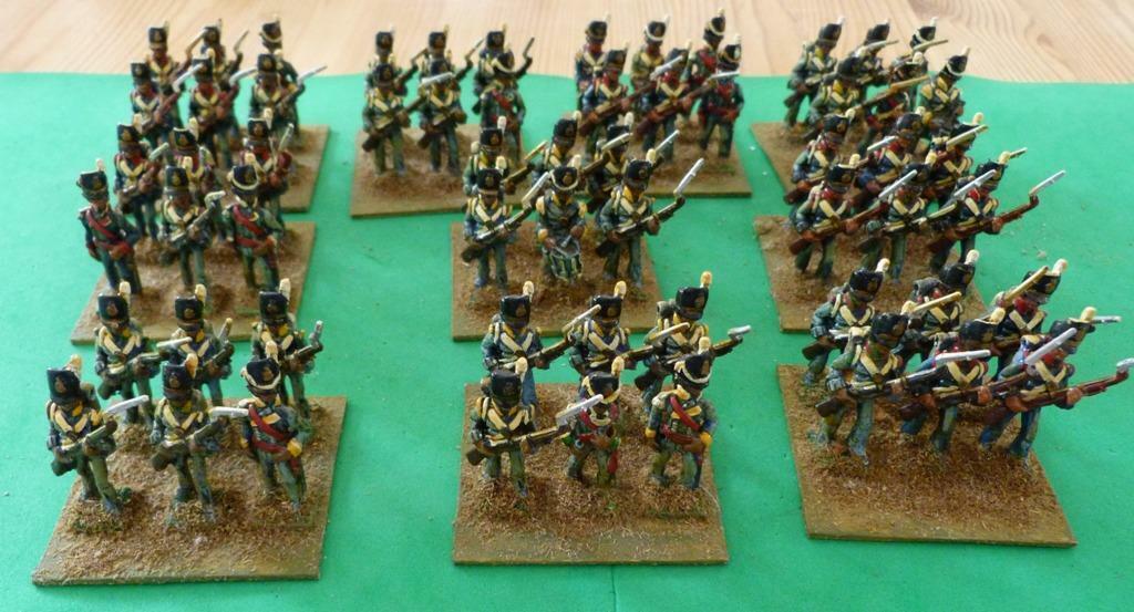 Infantería Napoleónicas X 60 (PH106)
