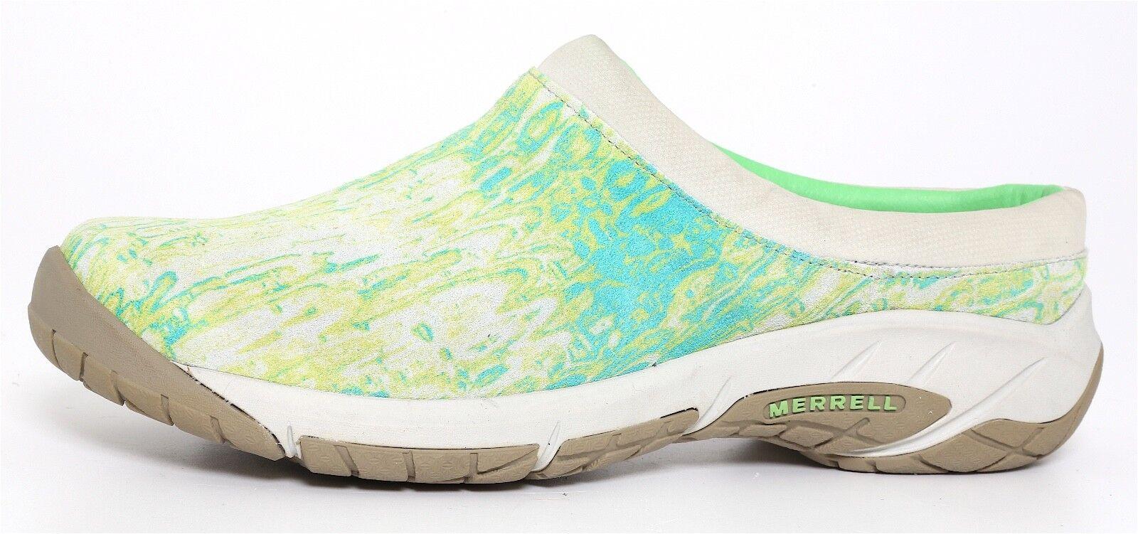 Merrell Green Air Cushion Comfort Performance Shoes Lime Green Merrell Donna Sz 8 1070 5ea63e