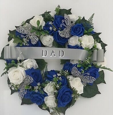 Any 9 Letters Funeral Flowers Grave Cemetary Floral Tribute Great Nan