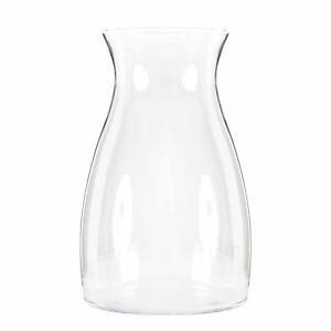 Das Bild Wird Geladen Vase Glas Transparent 30 Cm Blumenvase Glasvase Dekoration