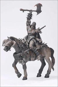 Spawn Classic Comic Covers Black Knight & Battle Horse (Cheval de bataille) Âge sombre # 23 Mcfarlane