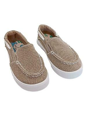 Ahannie Little Kids Casual Loafers Shoes Toddler Boys Slip on Boat Shoes Flats with Strap