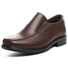 Alpine Swiss Men's Dress Shoes Leather Lined Slip On Loafers Good for Suit Jeans