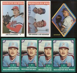 1984 87 Joe Kucharski Card Lot 7 Houston Tx Clinton Md