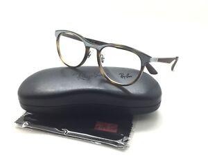 f46510561d Ray-Ban RB 7116 8016 51mm Matte Havana Gunmetal Full Rim Eyeglasses ...