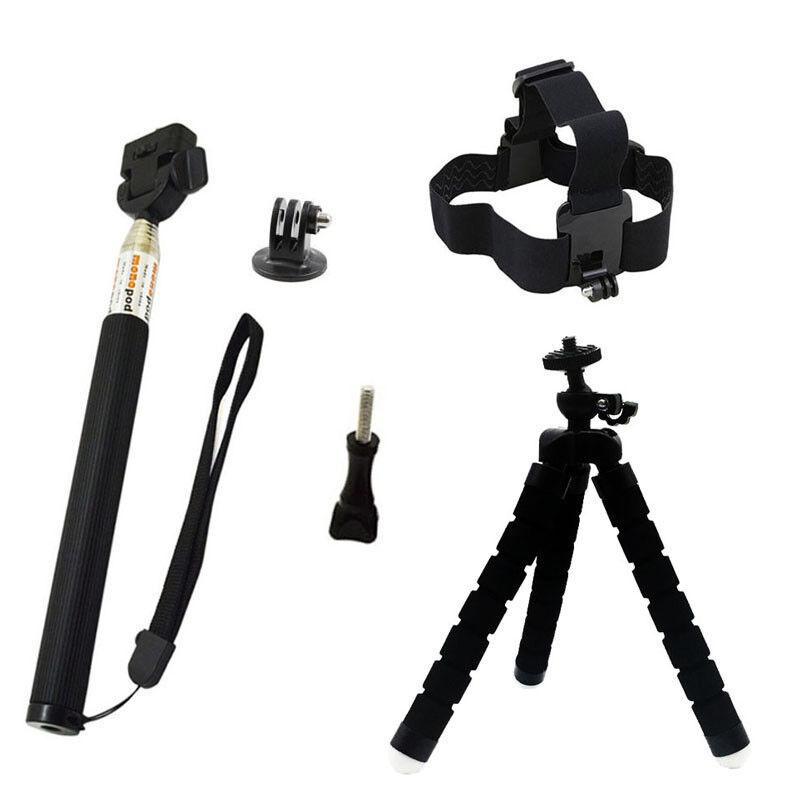GoPro HERO7 Black Action Camera Accessories Kit For Go Pro Hero 6/5/4 New Model 5