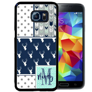 Monogram-Case-Fits-Samsung-Galaxy-S10-S9-S8-S7-Southern-Girl-Deer-Collage