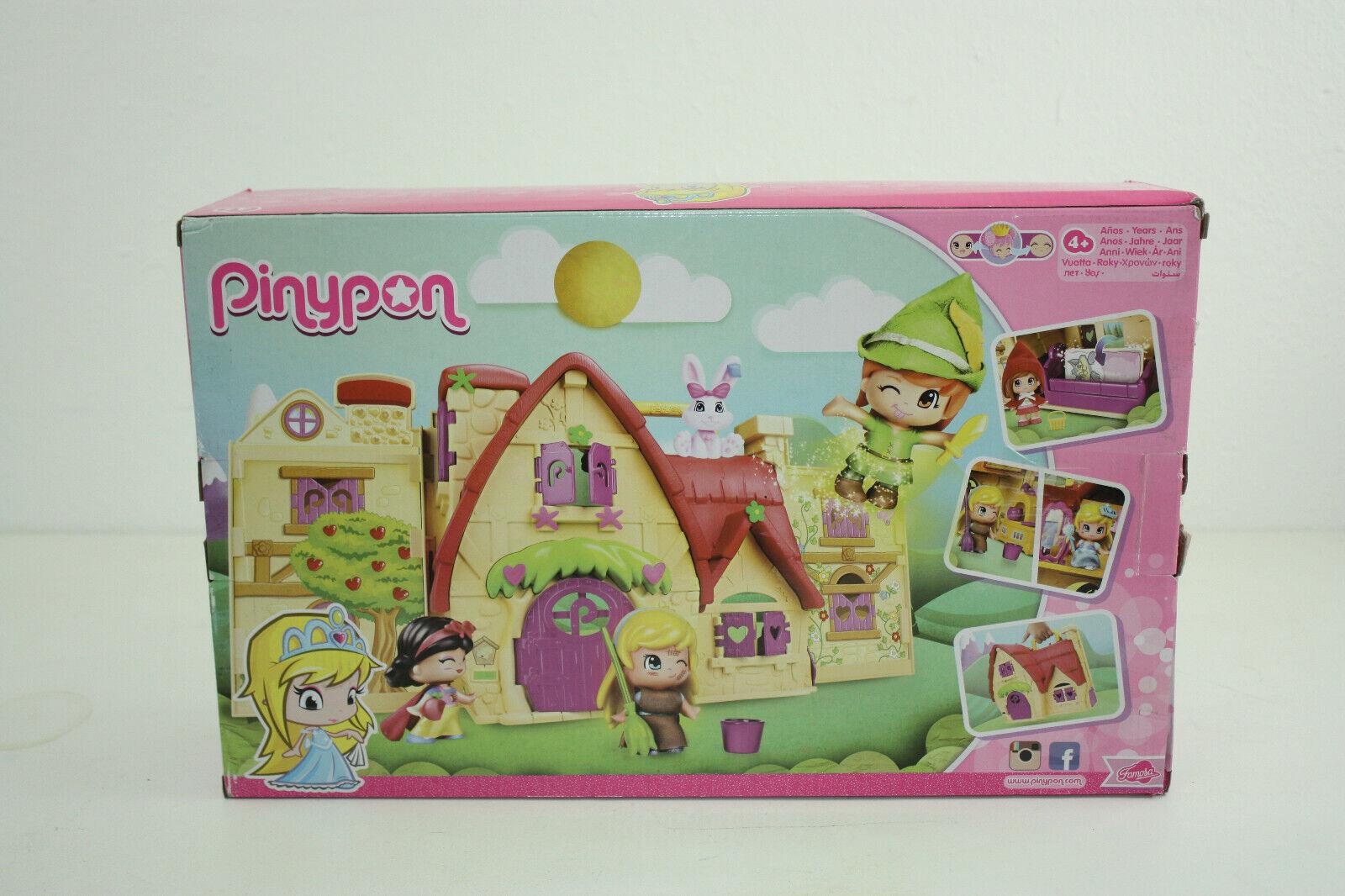 Famosa 700012406 - Pinypon Märchen Haus, bunt NEU