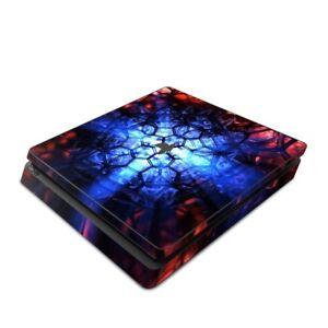 Sony-PS4-Slim-Console-Skin-Kit-Geomancy-by-DigitalBlasphemy-Sticker-Decal