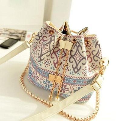 Unique Shoulder Chain Bag Satchel Clutch Womens Handbag Tote Purse Messenger DB