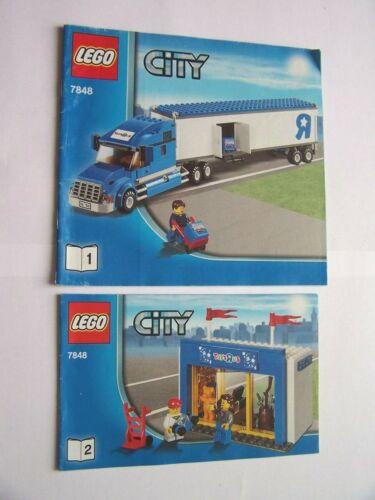 Instruction Nr LEGO® Bauanleitung 7848