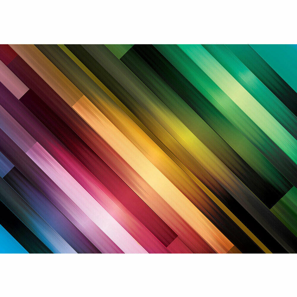 Photo Wall Paper Abstract Stripes Patterns Illustrations Colourful bluee Liwwing
