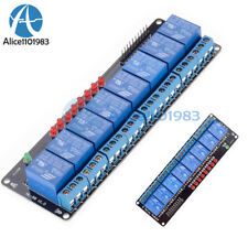 8 Channel 5V Relay Module Shield for Arduino Uno Meage 2560 1280 ARM PIC AVR DSP