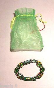 Kinderschmuck Armband Glasperlenarmband Grün Mit Winterlichen Motiven Neu HeißEr Verkauf 50-70% Rabatt