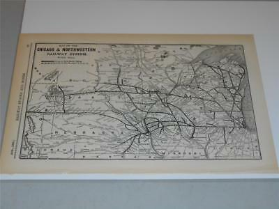 Original Map of the Erie Railroad from 1908