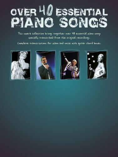 1 of 1 - Essential Piano Songs Learn to Play Popular Chart Tunes Guitar PVG Music Book
