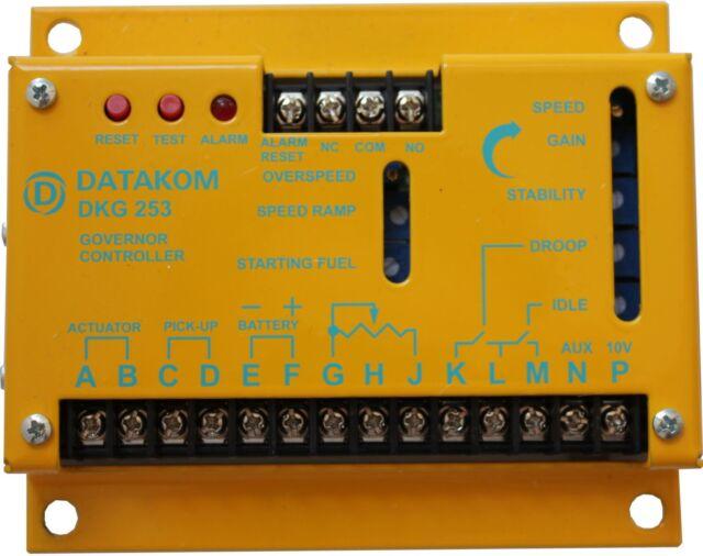 DATAKOM DKG-253 Regulador del motor del generador para actuadores