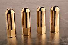 NRG M12X1.5 EXTENDED LUG NUT HONDA ACURA TOYOTA MAZDA SCION  (QTY 4) Chrome Gold