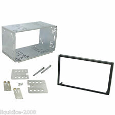 KENWOOD DNX 520VBT REPLACEMENT DOUBLE DIN  CAGE KIT SURROUND RADIO HEADUNIT