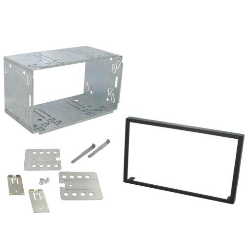 Clarion 100mm nx501e Reemplazo Doble Din Cage Kit Envolvente Radio Headunit
