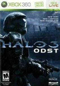 Halo 3 ODST Microsoft Xbox 360 Game Authentic