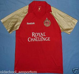 Royal Challengers Bangalore / REEBOK - VTG MENS CRICKET Shirt / Jersey. L / XL - Poland, Polska - Royal Challengers Bangalore / REEBOK - VTG MENS CRICKET Shirt / Jersey. L / XL - Poland, Polska