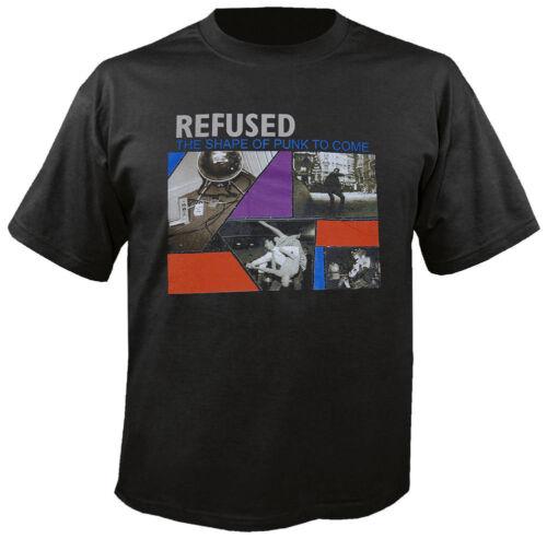 Refused-the shape of punk-t-shirt