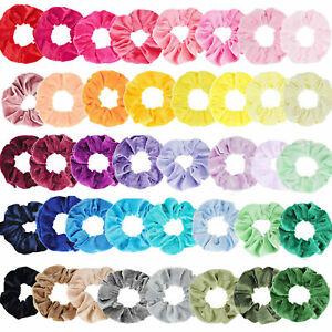 10-20pcs-Pack-Velvet-Hair-Scrunchies-Elastic-Scrunchy-Ponytail-Hair-Tie-Rope-Sd