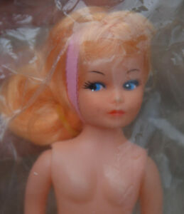 Lot-6-Vintage-7-5-034-Vinyl-Nude-JILL-DOLL-Regal-Canada-Blonde-Rooted-Hair-amp-Shoes