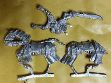 Warhammer Undead / Vampire Counts Mounted Vampire Lord - Metal - Stripped