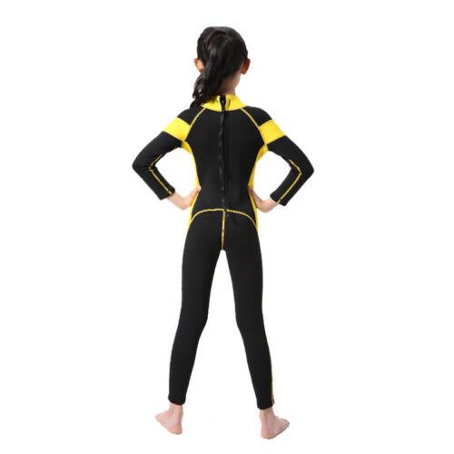 Hisea 2.5 mm Kinder Neoprenanzug Lang Surfanzug Schwimmanzug 95-165cm