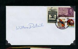 Autografato-Busta-William-Dietrich-Americana-Romanziere-Saggistica-Scrittura