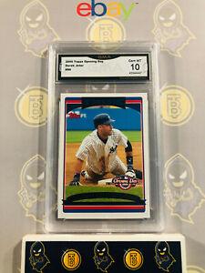 2006-Topps-Opening-Day-Derek-Jeter-96-10-GEM-MINT-GMA-Graded-Baseball-Card