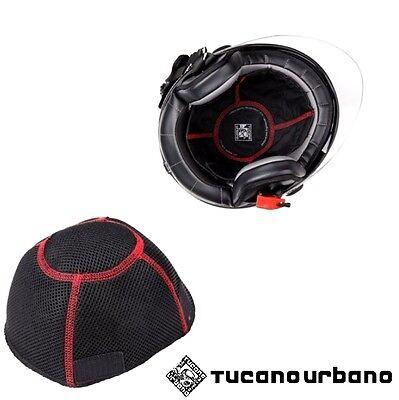 Coppia Sotto Caschi Universali Tucano Urbano Cotton Papam 327 per Moto Scooter