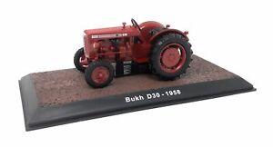 Atlas-Modellauto-Druckguss-1-32-Oldtimer-Traktor-1958-Bukh-D-30