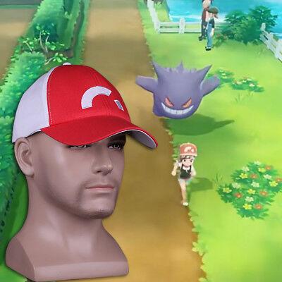 New Pokemon Let/'s Go Hat Misty Hat Pokemon Ash Ketchum Embroidered Baseball Hat