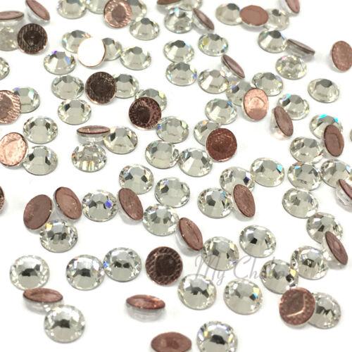 Swarovski 2078 16ss flatback hotfix iron-on Strass ss16 Clair 001 Crystal