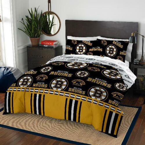 Boston Bruins Queen Bed In Bag Set