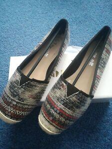 New On Womens Size 4 Shoes Bnib Slip qv1rq