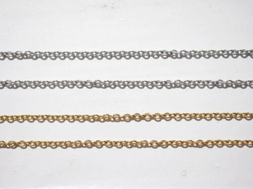 Filigree Anchor Chain Made of Stainless Steel Gold or Silver