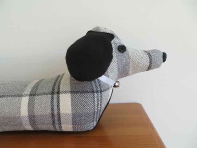 PDF or Printed Sewing Pattern Sausage Dog Draught Excluder Easy ...
