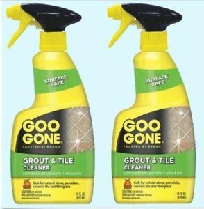 Grout Tile Cleaner By Goo Gone 2 14 Oz Spray Bottles Ceramic
