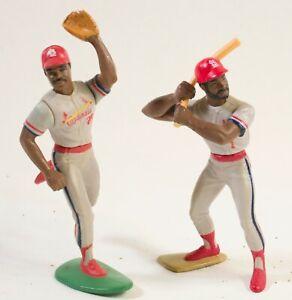 1989 Ozzie Smith & Vince Coleman Starting Lineup Figures - St. Louis Cardinals