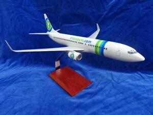 MAQUETTE D'AVION D'AGENCE / Airplane agency model - TRANSAVIA BOEING 737-800