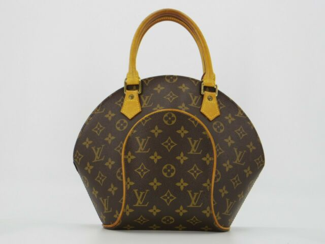 Louis Vuitton  Monogram Ellipse PM Hand Bag M51127  F/SFrom Japan #DC158e
